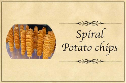 Spiral Potato Chips